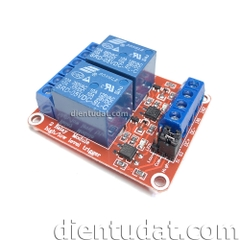 Module 2 Relay Kích High/Low 5VDC