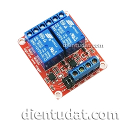 Module 2 Relay Kích High/Low 12VDC