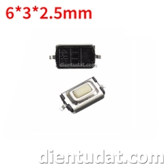Nút Nhấn SMD 3*6*2.5mm - Micro Switch