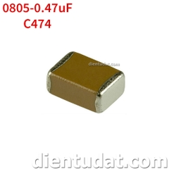 Tụ 474 0.47uF - Size 0805