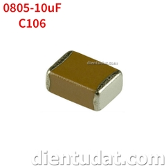 Tụ 106 10uF - Size 0805