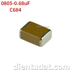 Tụ 684 0.68uF - Size 0805
