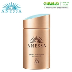 Sữa Chống Nắng Anessa SPF50+/PA+++Perfect UV Sunscreen Skincare Milk 60ml