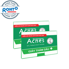 Acnes Oil Remover Paper – Giấy thấm dầu