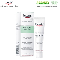 Eucerin Pro ACNE Solution A.I. Clearing Treatment Tinh Chất Trị Mụn