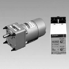 Socket-type speed controllers w/elect-magnet brake motors