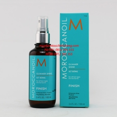 XỊT BÓNG MOROCCANOIL FINISH GLIMMER SHINE 100ML