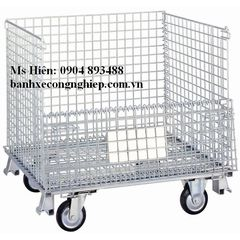 Lồng thép, long thep, pallet thep, Wire container
