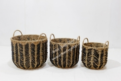Seagrass Basket - SD10434B-3MC