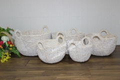 Water hyacinth Basket - SD8826A-5WH01