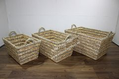 Water hyacinth Basket - SD8882B-3NA