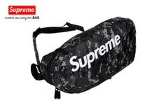 Túi đeo chéo Supreme camo đen