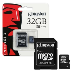 Thẻ nhớ Kingston micro SDHC 32Gb 80Mb/s