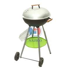 Grill with wheel - 2