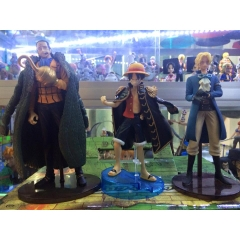 styling Crocodile , Luffy , Sabo