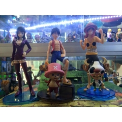 Styling chRobin , luffy , chopper