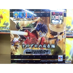 Set megahouse Logbox Luffy at fishland man