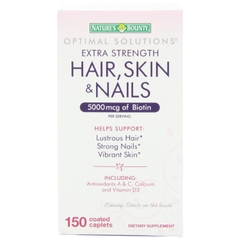 Extra Strength Hair Skin and Nails Multivitamin and Mineral Formula. Lọ 150 viên
