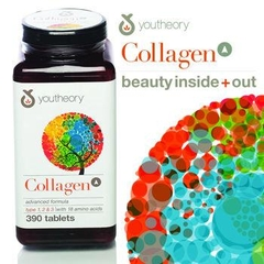 Collagen Advanced Formula Collagen Type 1, 2 & 3 with 18 Amino Acids. Lọ 390 viên