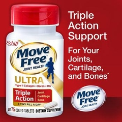 Move Free ® Ultra Triple Action. Lọ 75 viên nén