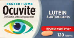 Ocuvite® Nutrition for Eyes. Lọ 120 viên nén
