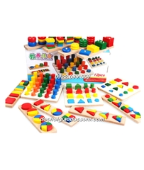 Set 12 món Montessories