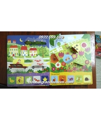 counting book usborne lift the flap giá chuẩn