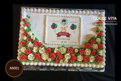 Company Anniversary cake by Dolce Vita (gallery)