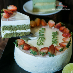 Green Tea Lemon Mousse