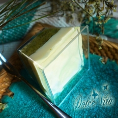 Green Tea Lemon Mousse (cup)