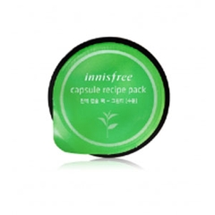 Mặt Nạ Innisfree Capsule Recipe Pack Green Tea