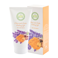 The Nature Book Tẩy da chết NGHỆ LAVENDER Clean and Fresh Peeling Gel 120g