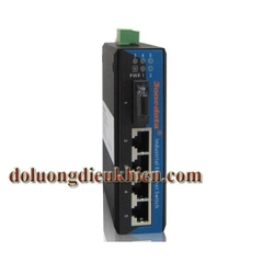 Switch công nghiệp 4 cổng Ethernet + 1 cổng quang Multi Mode 3OneData IES215-1F(M)