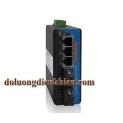 Switch Công Nghiệp 3 Cổng Ethernet + 2 Cổng Quang Multi-mode 3Onedata IES215-2F(M)