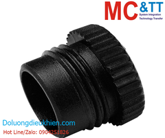 A-CAP-M12F CR: M12 WATERPROOF CAP 1.0P for Male Screw Type