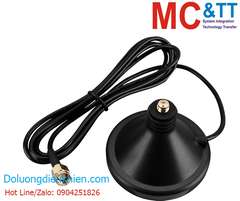 ANT-Base-01 CR: Antenna magnetic base with 1.5 meter cable (SMA Male Plug)