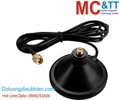 ANT-Base-02 CR: Antenna magnetic base with 1.5 meter cable (RP SMA Male Plug)