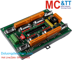 DN-8468FB CR: Photo-isolated Terminal Board for 4-axis Stepper/Servo Motion Controllers