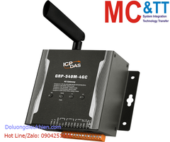 GRP-540M-4GC CR: Modem LTE (4G) + GPS + Ethernet + RS-232/48 + CAN Gateway