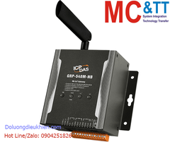 GRP-540M-NB CR: NB-IoT modem giao tiếp Ethernet/RS-232/485 + GPS