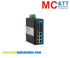 IES308-2F(S): Switch Công Nghiệp 6 Cổng Ethernet + 2 Cổng Quang Single-mode 3Onedata