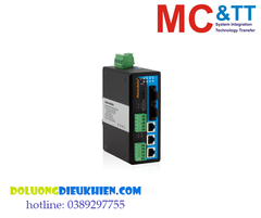 IES615-2F(M)-2D(RS-485): Switch công nghiệp 3 cổng Ethernet + 2 cổng quang Multi-mode + 2 cổng RS-485 3Onedata