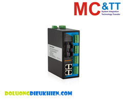 IES618-4F(S)-4D(RS-232): Switch công nghiệp 4 cổng Ethetnet + 4 cổng quang Single-mode + 4 cổng RS-232 3Onedata
