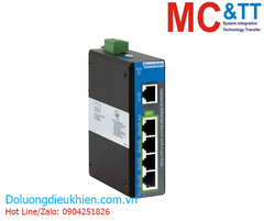 Switch công nghiệp 4 cổng PoE Gigabit Ethernet + 1 cổng Gigabit Ethernet 3Onedata IPS2000G-1GT-4GPOE