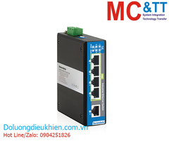Switch công nghiệp 4 cổng PoE Ethernet + 1 cổng Ethernet 3Onedata IPS215-4POE