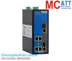 Switch công nghiệp 4 cổng PoE Ethernet + 2 cổng combo Gigabit SFP 3Onedata IPS316-2GC-4POE