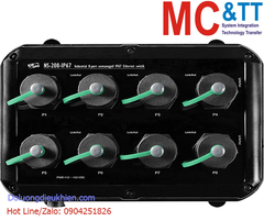 NS-208-IP67 CR: Switch công nghiệp IP67 8 cổng Ethernet