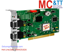 PISO-CM200U-D CR: Card PCI 2 cổng CAN