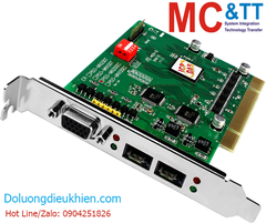 PISO-MN200EC CR: PCI Bus, Dual-line Motionnet Master Card(For Distributed Motion & I/O Control)