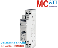 RM-20.22 CR: 2 Pole 16 A Step relay with DIN-rail mounting